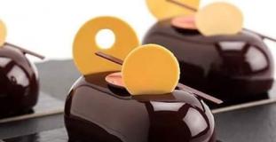 Double chocolate terrine