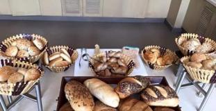 Dinner Buffet Bread Display