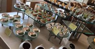 Dinner Buffet Salad Dispaly