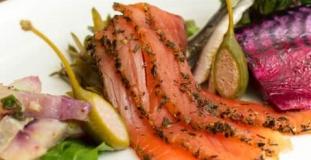 Salmon Gravlaxs