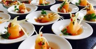 shrimp and melon salad
